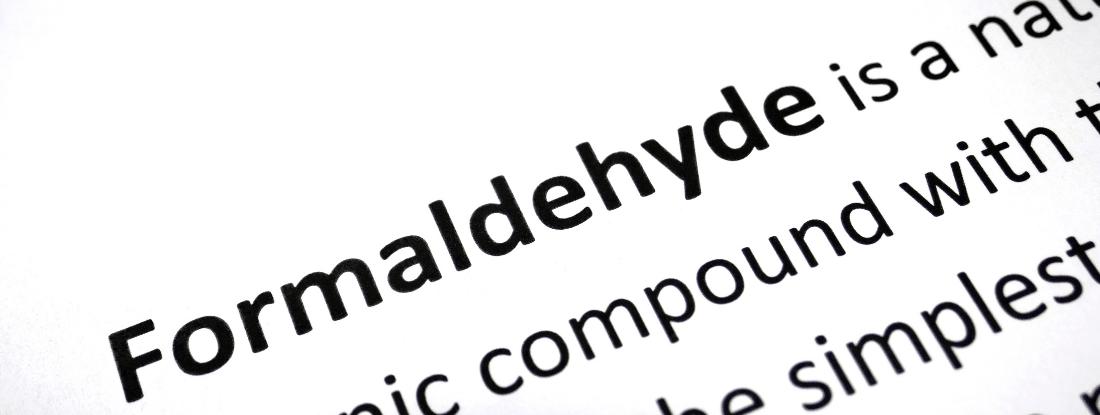 Formaldehyde-pollution